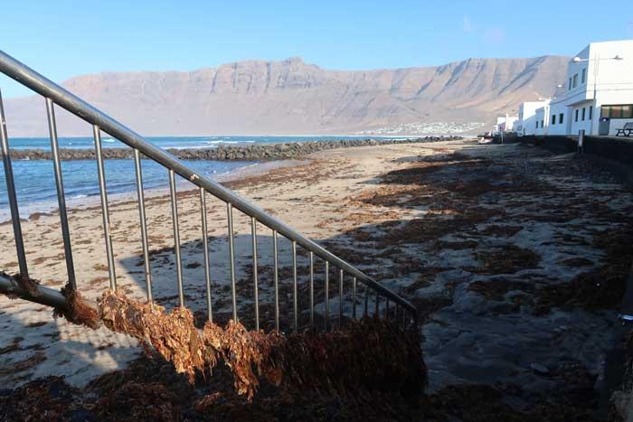 Playa de Caleta de Famara en Lanzarote