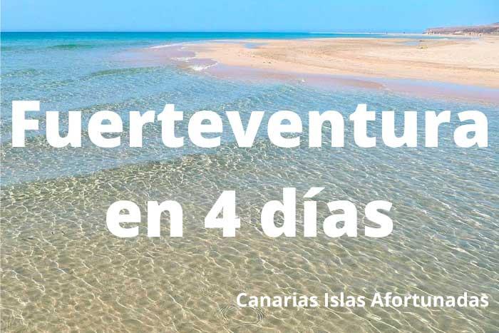 Qué ver en Fuerteventura en un viaje de 4 días
