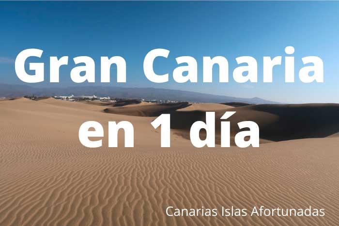 Qué ver y hacer en Gran Canaria en un viaje de 1 día