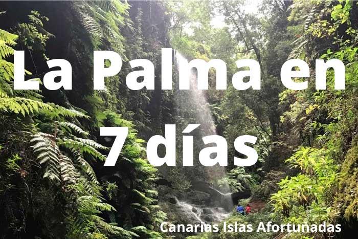 Qué ver en la Isla de La Palma en 7 días