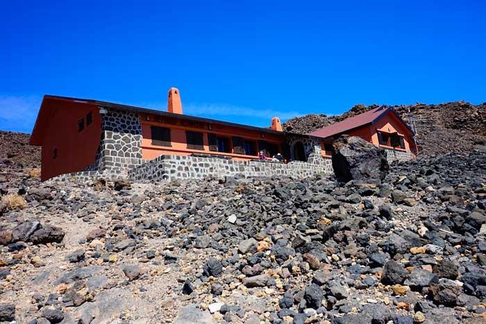 Refugio de El Teide en Tenerife