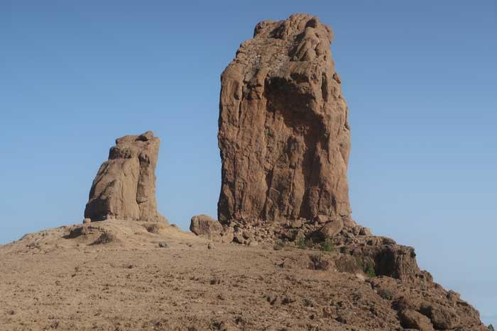 Roque Nublo y Rana en Gran Canaria