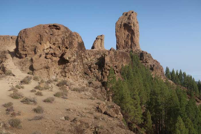 Ruta al Roque Nublo en Gran Canaria