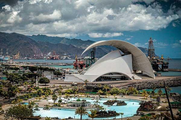 Santa Cruz de Tenerife Auditorio y Piscinas Artificiales
