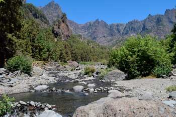 Senderismo con guía por la Caldera de Taburiente en la isla de La Palma