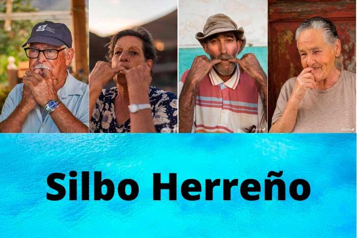 Silbadores de El Silbo Herreño en la Isla de El Hierro