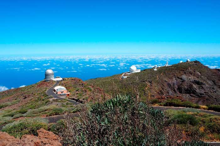 Telescopios del Observatorio Astronomico de La Palma