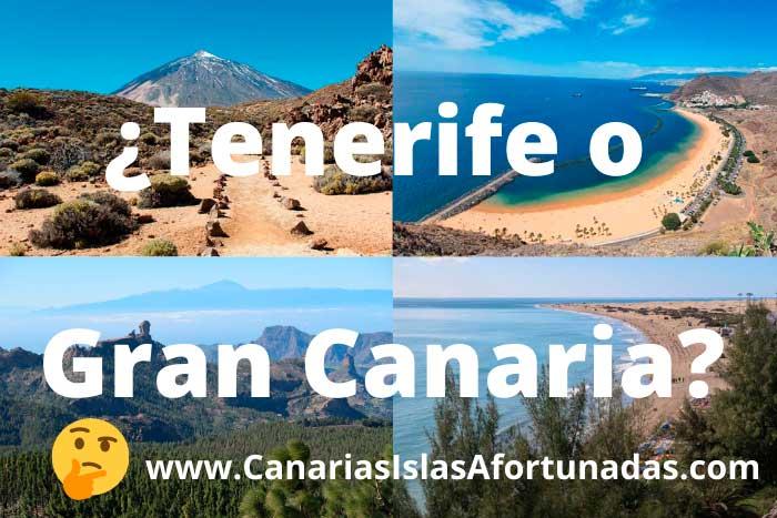 ¿Tenerife o Gran Canaria? Comparativa para saber qué isla elegir para tus vacaciones