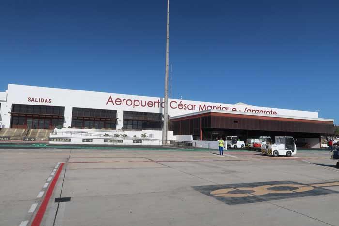 Terminal del Aeropuerto de Lanzarote César Manrique