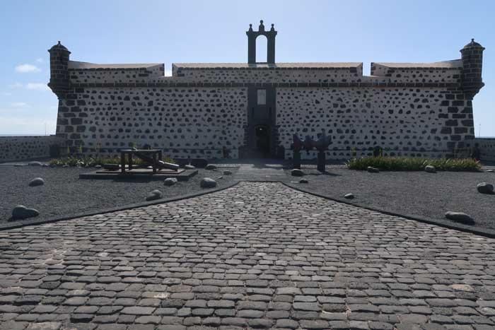 Castillo de San José en Arrecife