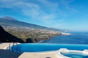 Villa con piscina privada en Santa Úrsula Ancón