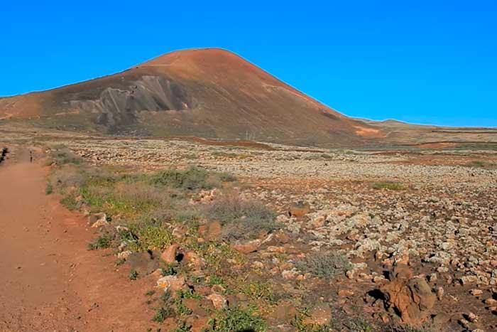 Volcán del Calderón Hondo en Fuerteventura