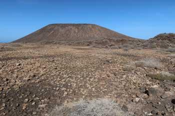 Volcán de La Caldera en el Islote de Lobos